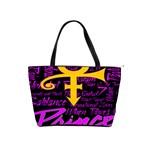 Prince Poster Shoulder Handbags Front