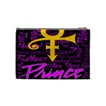Prince Poster Cosmetic Bag (Medium)  Back