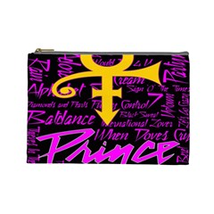 Prince Poster Cosmetic Bag (large)