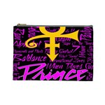 Prince Poster Cosmetic Bag (Large)  Front