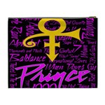 Prince Poster Cosmetic Bag (XL) Back