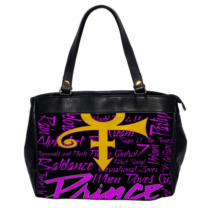 Prince Poster Office Handbags