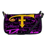 Prince Poster Shoulder Clutch Bags Front