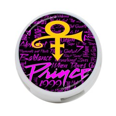 Prince Poster 4 Port Usb Hub (two Sides)