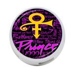 Prince Poster 4-Port USB Hub (Two Sides)  Front