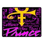 Prince Poster Fleece Blanket (Small) 50 x40 Blanket Front