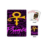 Prince Poster Playing Cards (Mini)  Back