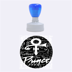 Prince Poster Rubber Round Stamps (Medium)