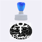 Prince Poster Rubber Oval Stamps 1.88 x1.37  Stamp