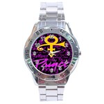Prince Poster Stainless Steel Analogue Watch Front