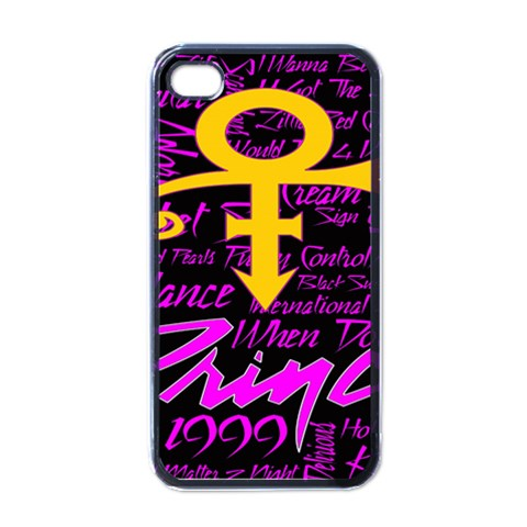 Prince Poster Apple iPhone 4 Case (Black)