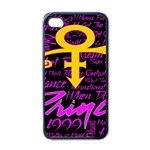 Prince Poster Apple iPhone 4 Case (Black) Front