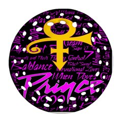 Prince Poster Ornament (Round Filigree)