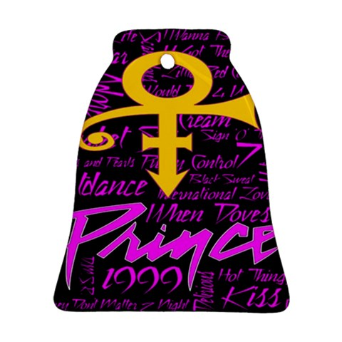 Prince Poster Bell Ornament (2 Sides)