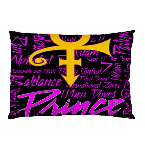 Prince Poster Pillow Case (Two Sides)