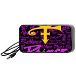 Prince Poster Portable Speaker (Black)  Front