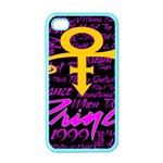 Prince Poster Apple iPhone 4 Case (Color) Front