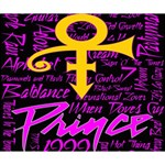 Prince Poster Deluxe Canvas 14  x 11  14  x 11  x 1.5  Stretched Canvas