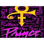 Prince Poster BOY 3D Greeting Card (7x5) Back