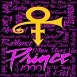 Prince Poster Twin Hearts 3D Greeting Card (8x4) Inside