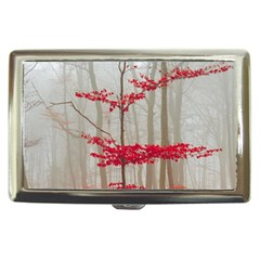 Magic forest in red and white Cigarette Money Cases