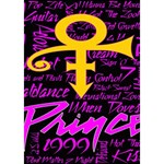 Prince Poster Circle 3D Greeting Card (7x5) Inside