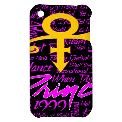 Prince Poster Apple iPhone 3G/3GS Hardshell Case