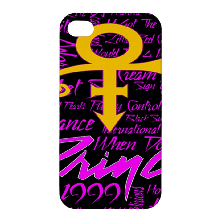 Prince Poster Apple iPhone 4/4S Hardshell Case