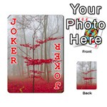 Magic forest in red and white Playing Cards 54 Designs  Front - Joker2
