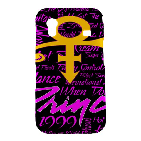 Prince Poster Samsung Galaxy Ace S5830 Hardshell Case