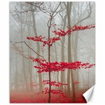 Magic forest in red and white Canvas 8  x 10  10.02 x8 Canvas - 1
