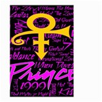 Prince Poster Small Garden Flag (Two Sides) Back