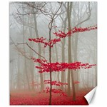 Magic forest in red and white Canvas 20  x 24   24 x20 Canvas - 1