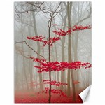Magic forest in red and white Canvas 36  x 48   48 x36 Canvas - 1