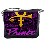 Prince Poster Messenger Bags Front