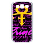 Prince Poster Samsung Galaxy S III Case (White) Front