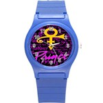 Prince Poster Round Plastic Sport Watch (S) Front