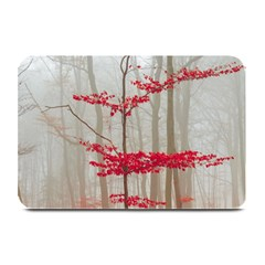 Magic Forest In Red And White Plate Mats