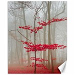 Magic forest in red and white Canvas 11  x 14   14 x11 Canvas - 1