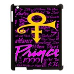 Prince Poster Apple iPad 3/4 Case (Black) Front
