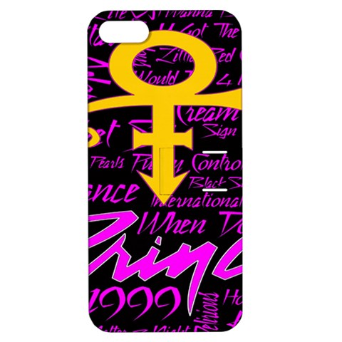 Prince Poster Apple iPhone 5 Hardshell Case with Stand