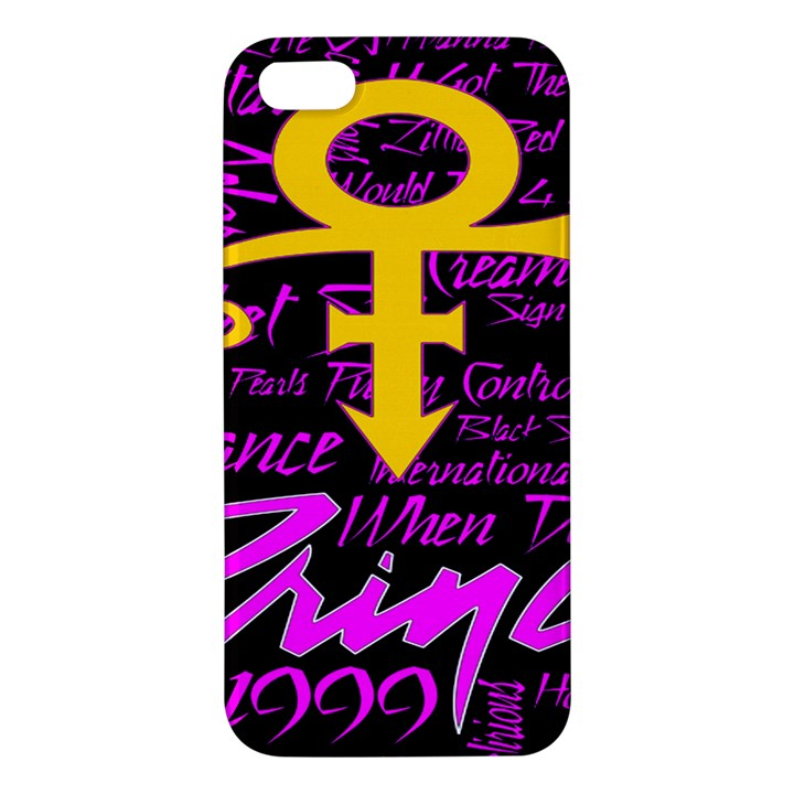 Prince Poster Apple iPhone 5 Premium Hardshell Case