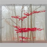 Magic forest in red and white Canvas 20  x 16  20  x 16  x 0.875  Stretched Canvas