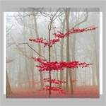 Magic forest in red and white Canvas 24  x 20  24  x 20  x 0.875  Stretched Canvas
