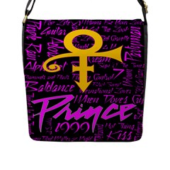 Prince Poster Flap Messenger Bag (l)