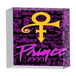 Prince Poster 5  x 5  Acrylic Photo Blocks Front