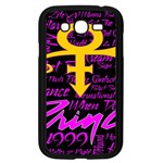 Prince Poster Samsung Galaxy Grand DUOS I9082 Case (Black) Front