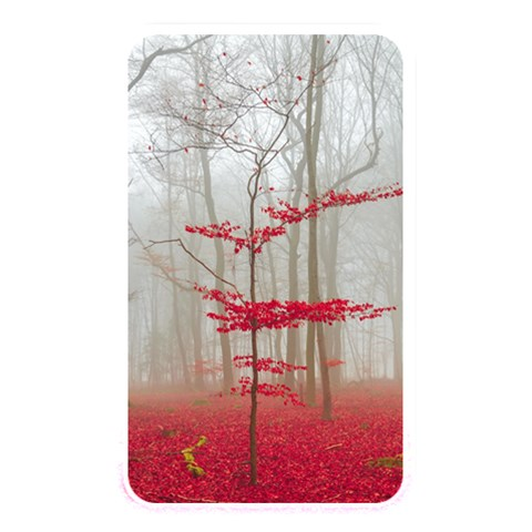 Magic forest in red and white Memory Card Reader