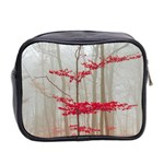 Magic forest in red and white Mini Toiletries Bag 2-Side Back