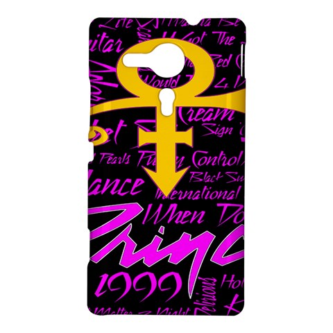 Prince Poster Sony Xperia SP